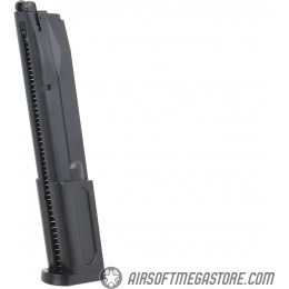 Elite Force 42rd Beretta M92 CO2 Airsoft Pistol Extended Magazine - BLACK