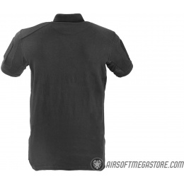 Lancer Tactical Short-Sleeve Polo Shirt [Small] - BLACK