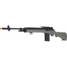 AGM M14 SOCOM Airsoft DMR AEG Rifle w/ Battery and Charger - OD GREEN