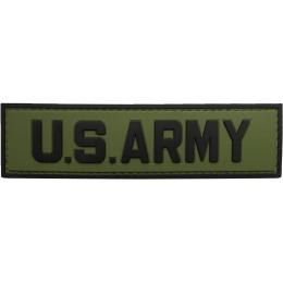 G-Force U.S. Army PVC Morale Patch - OD/BLACK