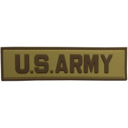 G-Force U.S. Army PVC Morale Patch - TAN/BROWN