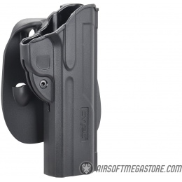 Cytac Fast Draw Hard Shell Holster for 1911 - BLACK