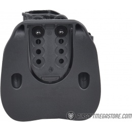 Cytac Fast Draw Hard Shell Holster for Glock [G19, G23, G32] - BLACK