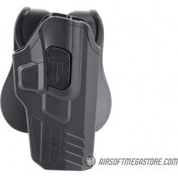 Cytac R-Defender Hard Shell Holster Gen3 for Glock [G17, G22, G31] - BLACK