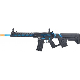 Lancer Tactical Enforcer BLACKBIRD Skeleton AEG w/ Alpha Stock [HIGH FPS] - BLACK/BLUE