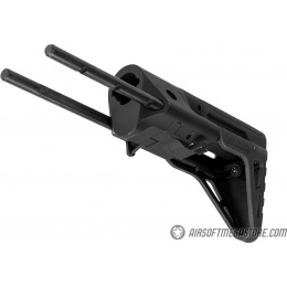 Lancer Tactical M4 AEG Retractable PDW Stock - BLACK