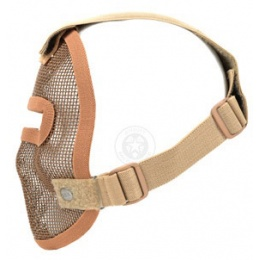 Black Bear REAPER 1000D Steel Mesh Face Airsoft Mask - COYOTE BROWN