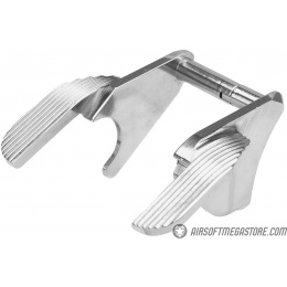 Airsoft Masterpiece Ambi Steel Thumb Safety for Hi-Capa [SV Ver. 2] - SILVER
