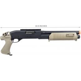 Umarex Tactical Force Tri-Shot Pump Action Airsoft Shotgun - TAN