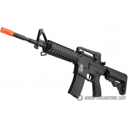 Lancer Tactical LT-04 Hybrid Gen 2 M4 RIS Airsoft AEG [HIGH FPS] - BLACK