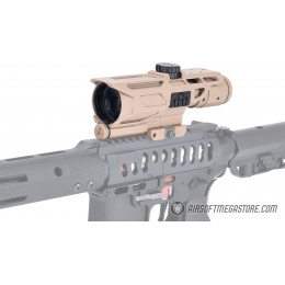 NcStar Mark III Tactical Gen3 - 3-9X40 [P4 Sniper] Rifle Scope - TAN