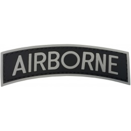 G-Force Airborne PVC Arch Patch - BLACK/GRAY