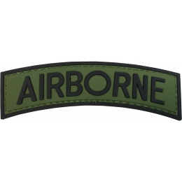 G-Force Airborne PVC Arch Patch - OD/BLACK