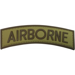 G-Force Airborne PVC Arch Patch - TAN/BROWN