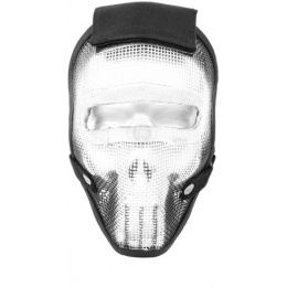 Black Bear REAPER 1000D Steel Mesh Full Face Airsoft Mask - PUNISHER