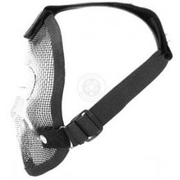 Black Bear REAPER 1000D Steel Mesh Full Face Airsoft Mask - PUNISHER