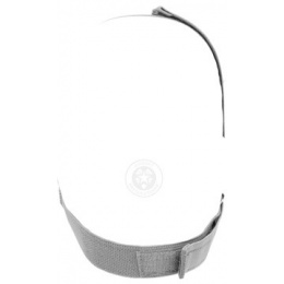 Black Bear SHADOW Steel Mesh Lower Face Airsoft Mask - GRAY