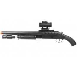 DBoys M1181A High Powered Spring Shotgun - Realistic Pump Action
