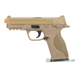 UK ARMS G53T 1:1 Replica Airsoft Spring Pistol - TAN