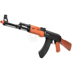 Cybergun Kalashnikov AK47 Electric Blowback AEG Rifle - REAL WOOD