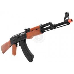 Cybergun Kalashnikov AK47 Electric Blowback AEG Rifle - REAL WOOD