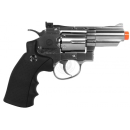 WG Full Metal Sport 708 Compact Airsoft CO2 Revolver Pistol - SILVER