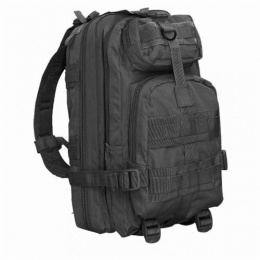 Condor Outdoor: Tactical Compact Modular Style Assault Pack - BLACK