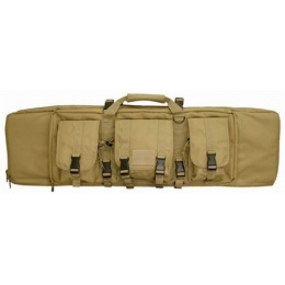 Condor Outdoor 42-Inch Single Rifle Case w/ SMG - TAN
