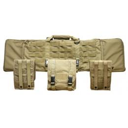 Condor Outdoor 42-Inch Single Rifle Case w/ SMG - TAN