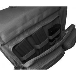 Condor Outdoor: Tactical Modular Style Messenger Bag - BLACK