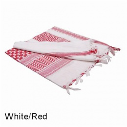 Condor Outdoor Tactical Shemagh Face/ Head Wrap - RED/WHITE