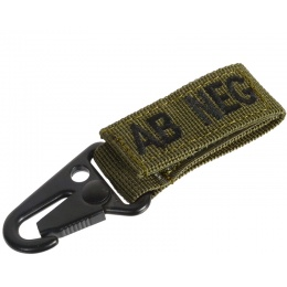 Condor Outdoor Blood Type Key Chain - OD