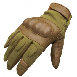Condor Outdoor NOMEX Hard Knuckle Tactical Glove - TAN (LARGE)