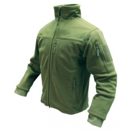 Condor Outdoor ALPHA Micro Fleece Jacket #601 - OD GREEN