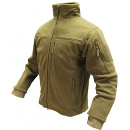 Condor Outdoor Tactical ALPHA Micro Fleece Jacket #601 - TAN