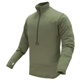 Condor Outdoor BASE II Zip Pullover Long Sleeve Fleece Shirt #603 - OD