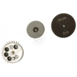 SHS X-Mod 100:300 Reinforced Steel Helical Gear Set - Version 2 & 3
