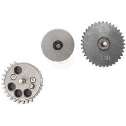 SHS Low Noise High Speed Reinforced Steel Straight Cut 16:1 Gear Set