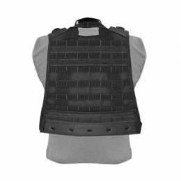 Condor Outdoor Modular Compact Tactical Vest w/ MOLLE Webbing (Black)