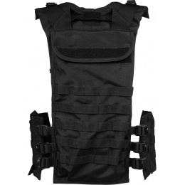 Condor Outdoor MOLLE Chest Rig w/ Integrated Hydration Pouch - BLACK