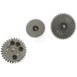 SHS X-Mod 32:1 Torque Up Reinforced Steel Straight Cut/Spur Gear Set