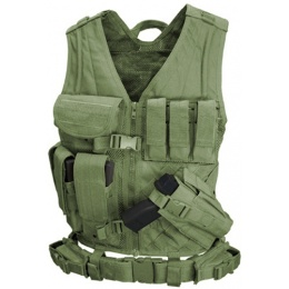 Condor Outdoor Tactical Crossdraw Vest - OD
