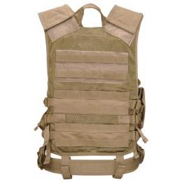 Condor Outdoor Tactical Crossdraw Vest - TAN