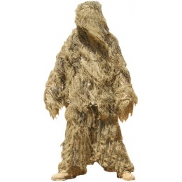 Condor Outdoor DESERT Camouflage Ghillie Suit - (Medium - Large)