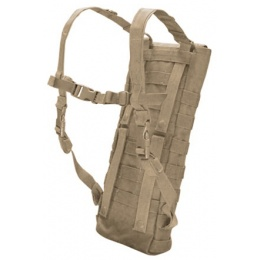 Condor Outdoor Tactical MOLLE Hydration Carrier w/ 2.5L Bladder - TAN