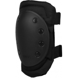 Condor Outdoor Tactical Rubber Cap Knee Pads - BLACK