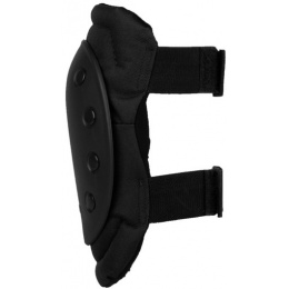 Condor Outdoor Tactical Rubber Cap Knee Pads - BLACK