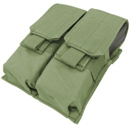 Condor Outdoor Tactical MOLLE Double M4 Magazine Pouch - OD