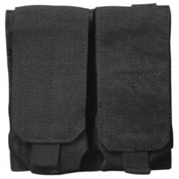 Condor Outdoor Tactical MOLLE Double M4 Magazine Pouch - BLACK