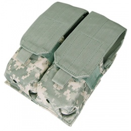 Condor Outdoor Tactical MOLLE Double M4 Magazine Pouch - ACU